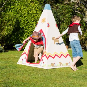 Lead Image Kiddiewinkles Childrens Personalised Wild West Wigwam