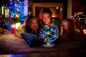 SMARTGLOBE STARRY - CHRISTMAS LIFESTYLE IMAGE